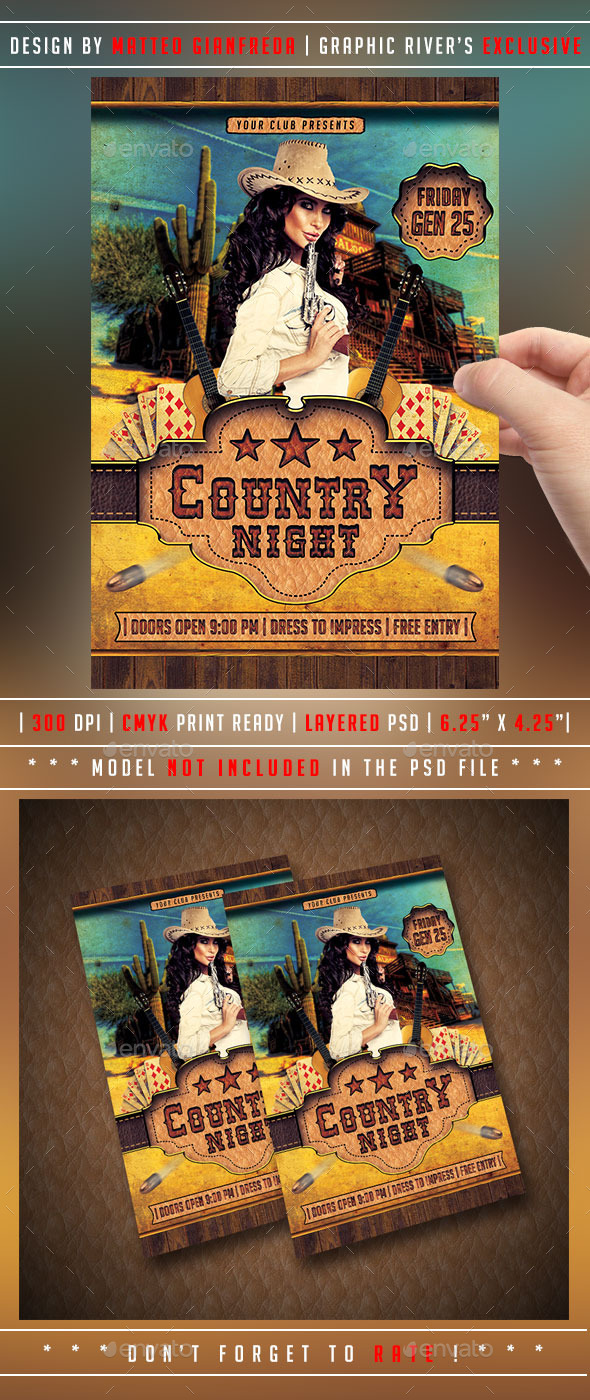 GraphicRiver Country Flyer 9827998
