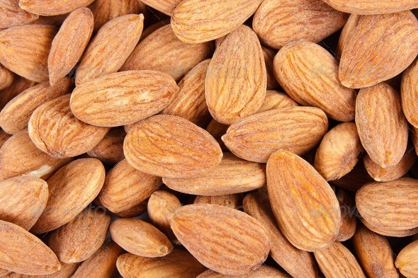 Almond Background - Stock Photo - Images