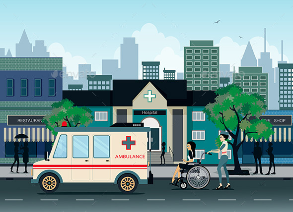 GraphicRiver Ambulance 9828523