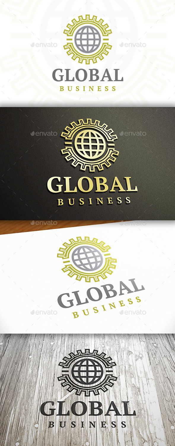 GraphicRiver World Business Logo 9828559
