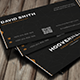 Hoover Creative Business Card - GraphicRiver Item for Sale