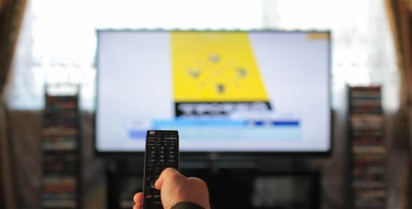 Channel Switching Remote control TV