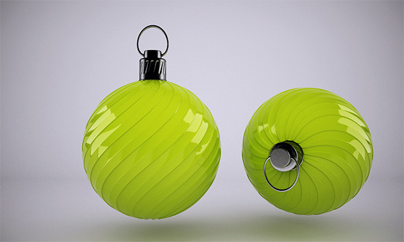 3DOcean Christmas Ball 5 VrayC4D 9828745