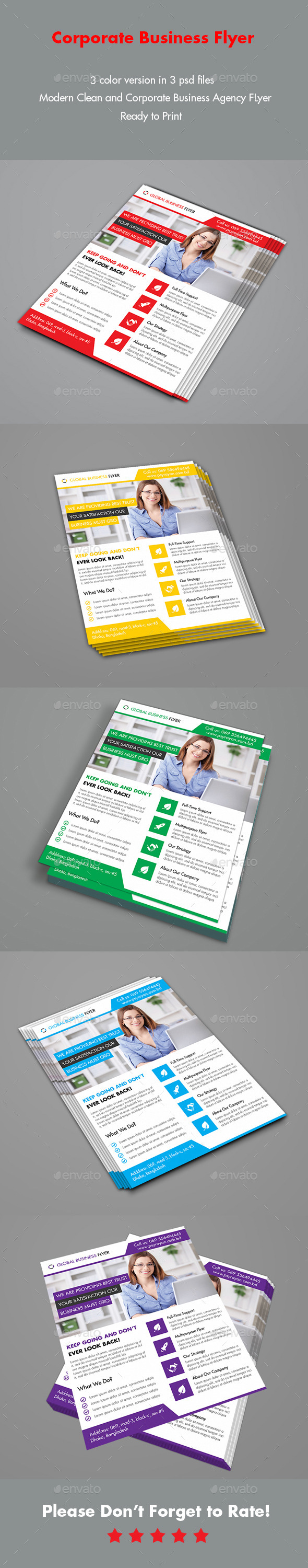 GraphicRiver Corporate Business Agency Flyer 9828881
