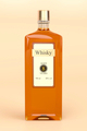 Whisky bottle on brown background - PhotoDune Item for Sale