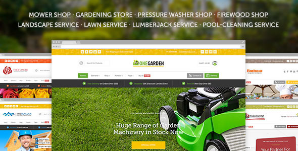 123Garden -  eCommerce & Corporate Theme