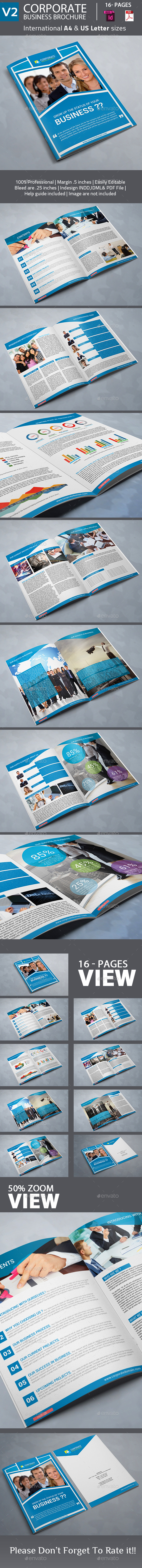 GraphicRiver Corporate Business Brochure 9829193
