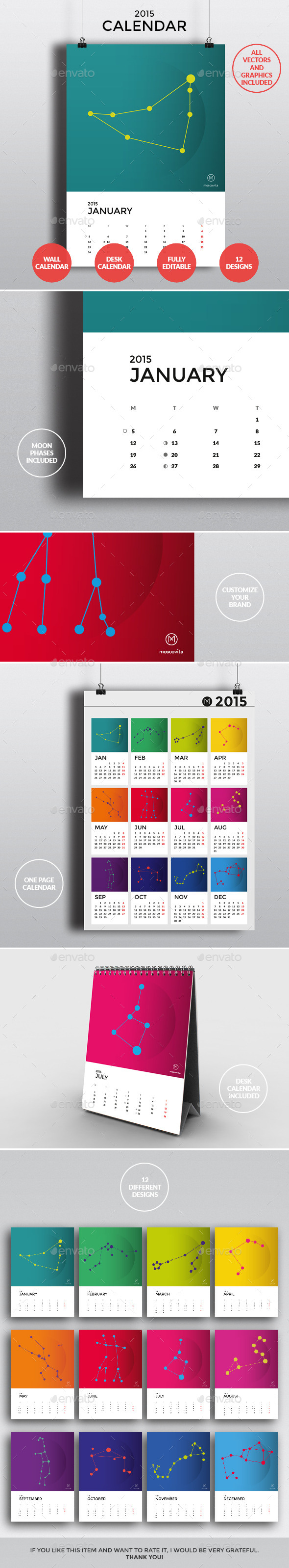 GraphicRiver Calendar 9829263