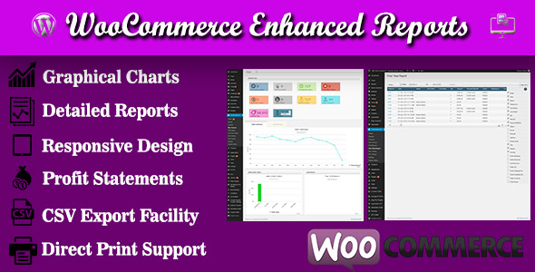 CodeCanyon WooCommerce Enhanced Reports 9728408