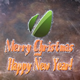 Merry Christmas & New Year photo & logo  reveal on Frozen Winter Window - VideoHive Item for Sale