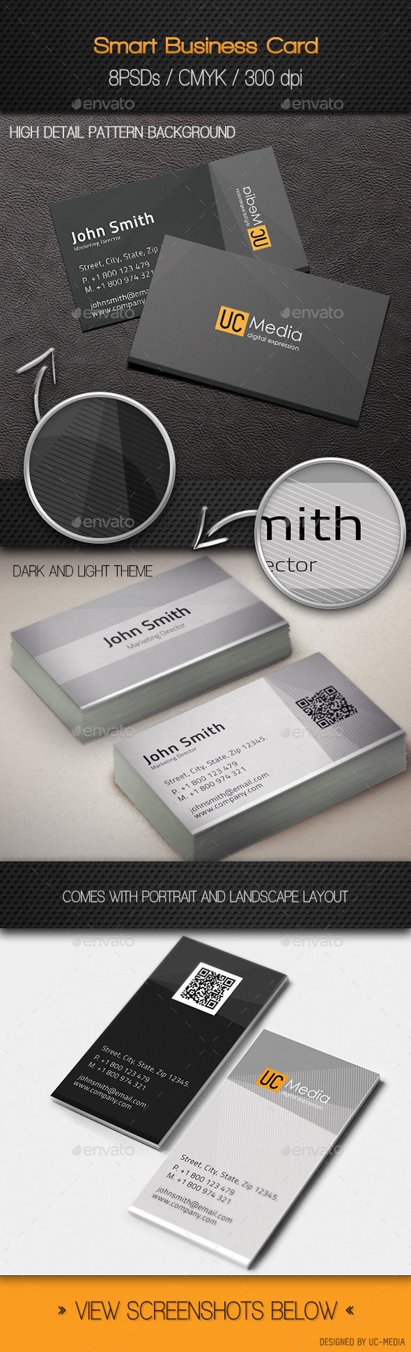 GraphicRiver Smart Business Cards 9829909