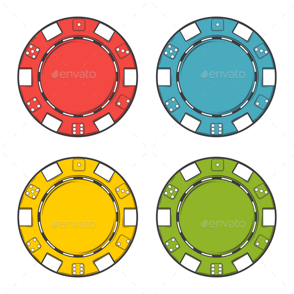 GraphicRiver Casino Chips Set 9830014