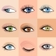 Set of Female Eyes - GraphicRiver Item for Sale