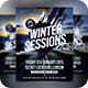 Winter Sessions - Futuristic Electro Flyer - GraphicRiver Item for Sale