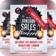 January Sales / Sale Event Club Flyer - GraphicRiver Item for Sale