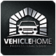 Vehicle Home Logo Template - GraphicRiver Item for Sale