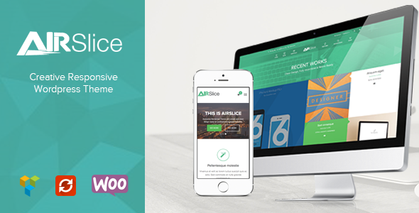ThemeForest AirSlice Creative Responsive Wordpress Theme 9830339
