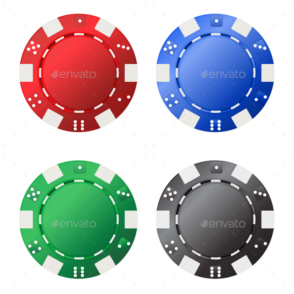 GraphicRiver Gambling Chips 9830499