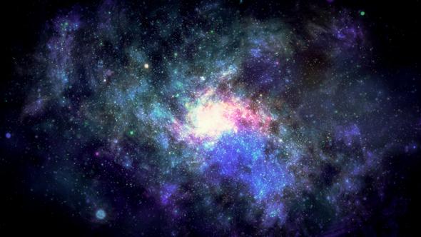 Twisting Galaxy