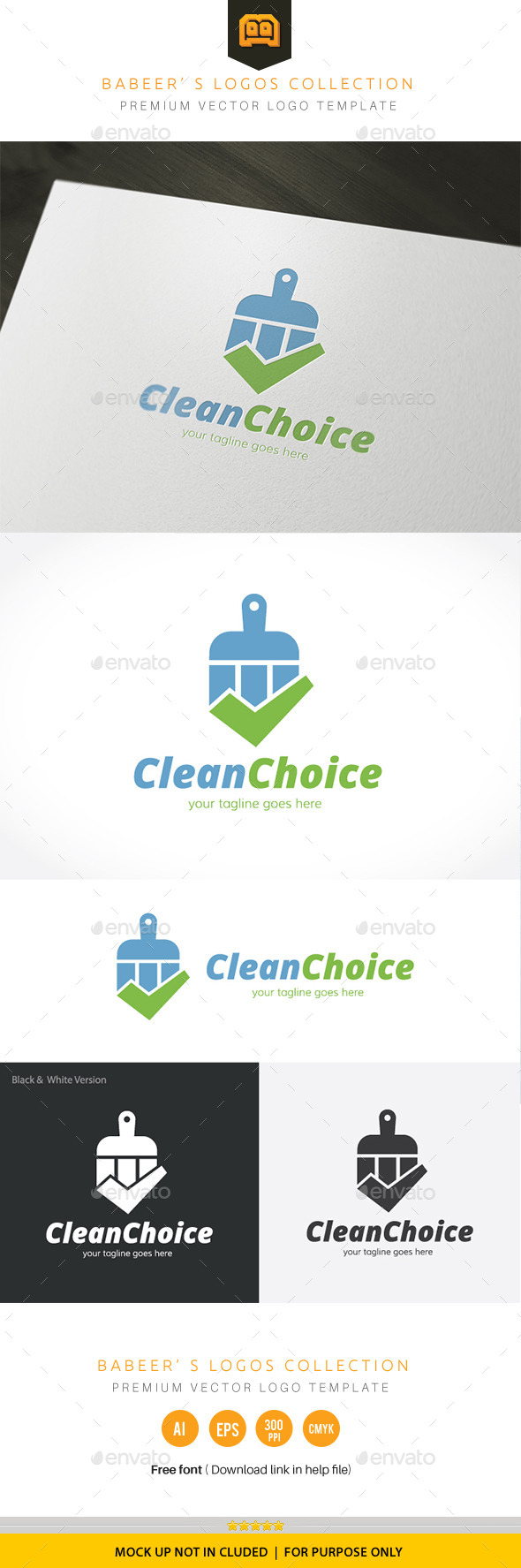 GraphicRiver Clean Choice 9830691