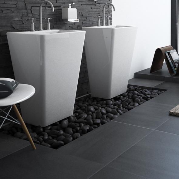 3DOcean Graphite Floor Tiles 9830809