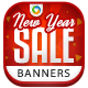 New Year Sale Banners - GraphicRiver Item for Sale