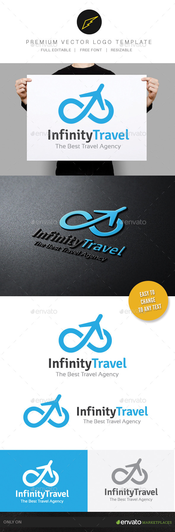 GraphicRiver Infinity Travel 9831265