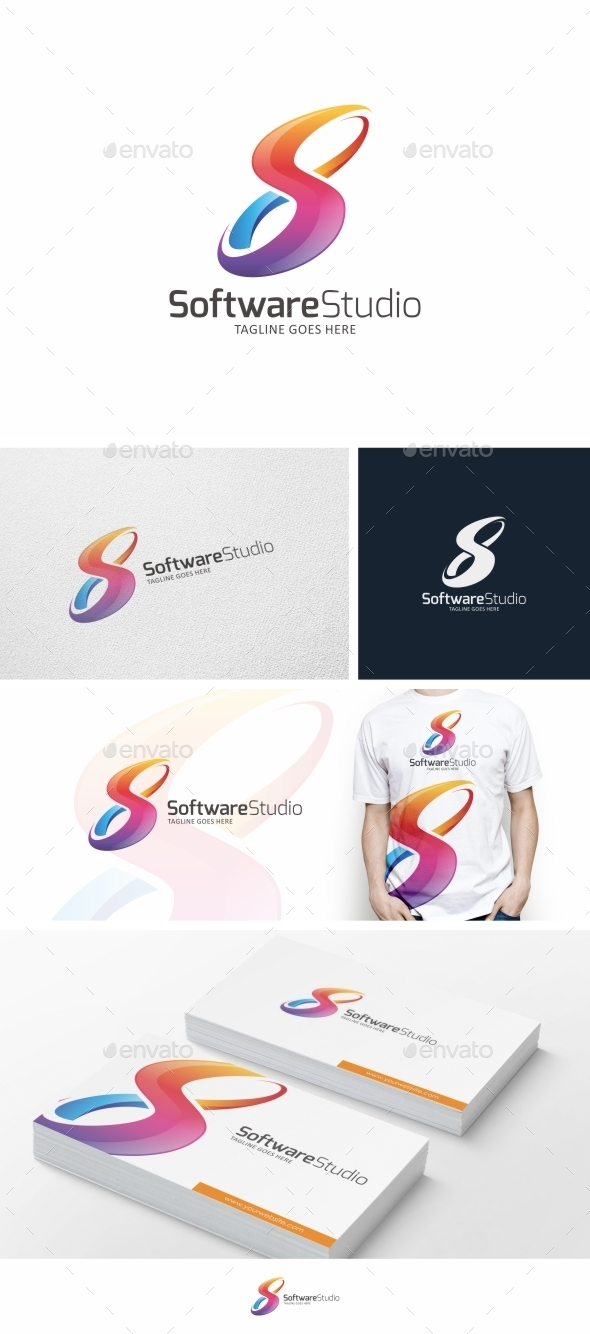 GraphicRiver S Letter Infinity Logo Template 9831266