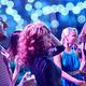 smiling friends dancing in club - PhotoDune Item for Sale