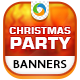 Christmas  Party Banners - GraphicRiver Item for Sale