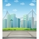 Tall Buildings in the City - GraphicRiver Item for Sale