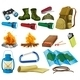 Camping Set - GraphicRiver Item for Sale