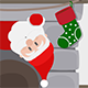 Christmas Santa Falling 2 - ActiveDen Item for Sale