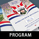 American Military Funeral Program Template - GraphicRiver Item for Sale