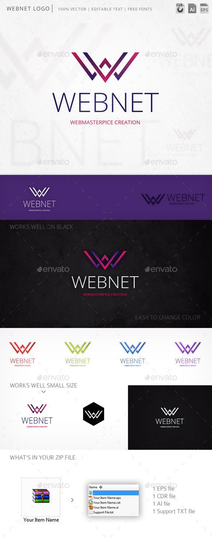 GraphicRiver Webnet Logo 9833787