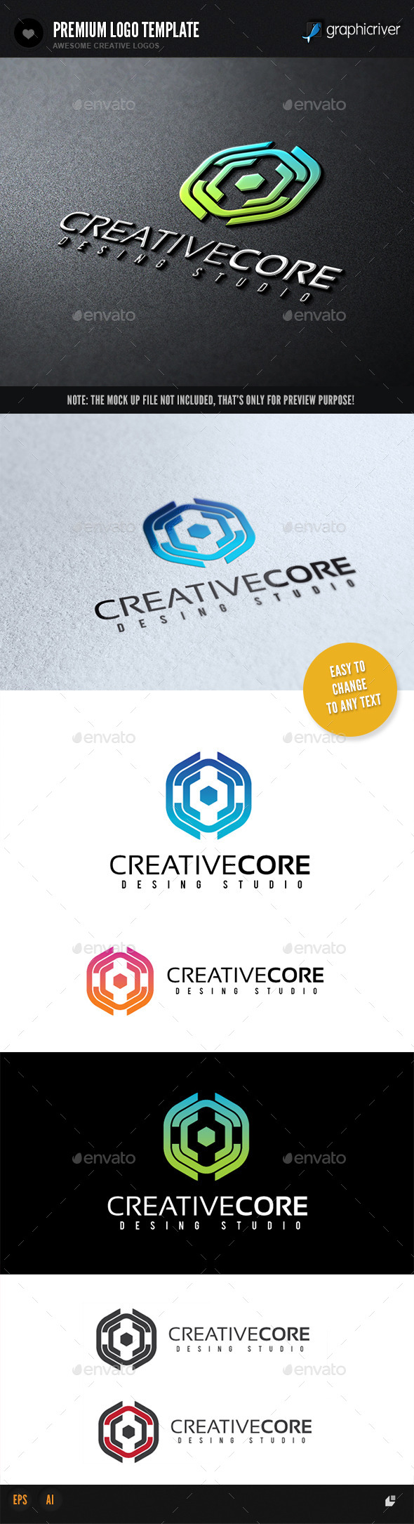GraphicRiver Creative Core 9833818