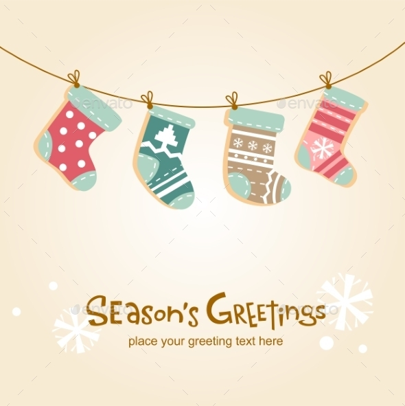 GraphicRiver Christmas Stockings 9833998