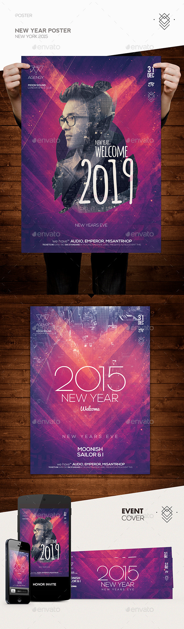 GraphicRiver New Year Poster Flyer 9834160