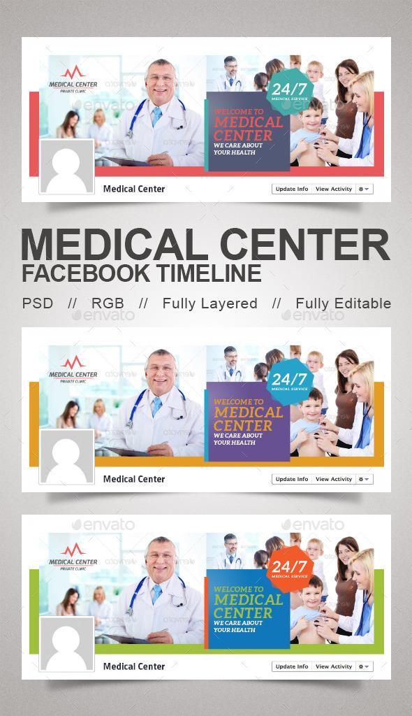 GraphicRiver Medical Center Timeline 9834239