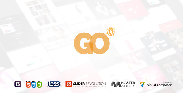 GO - Responsive Multipurpose One-Page WP Theme