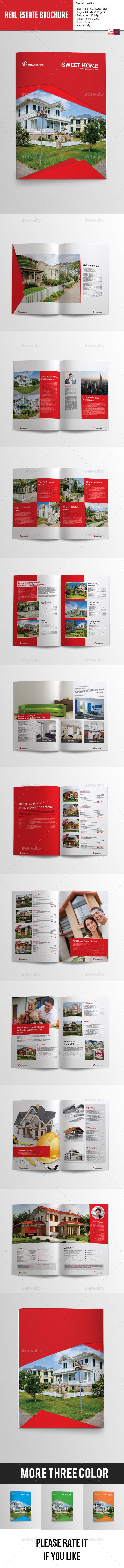 GraphicRiver Real Estate Bifold Brochure 9834823