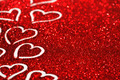 Glitter background with hearts - PhotoDune Item for Sale