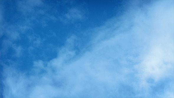 VideoHive Clouds Moving Fast Across Blue Sky 9834861
