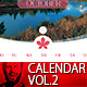 Minimal Wall Calendar Vol.2 - GraphicRiver Item for Sale