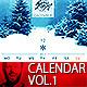 Minimal Wall Calendar Infinite Vol.1 - GraphicRiver Item for Sale