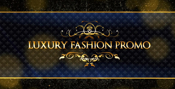 After Effects Project Videohive Luxury Fashion Promo 9827429 Creative Design Works