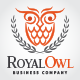 Wise Royal Owl Logo - GraphicRiver Item for Sale