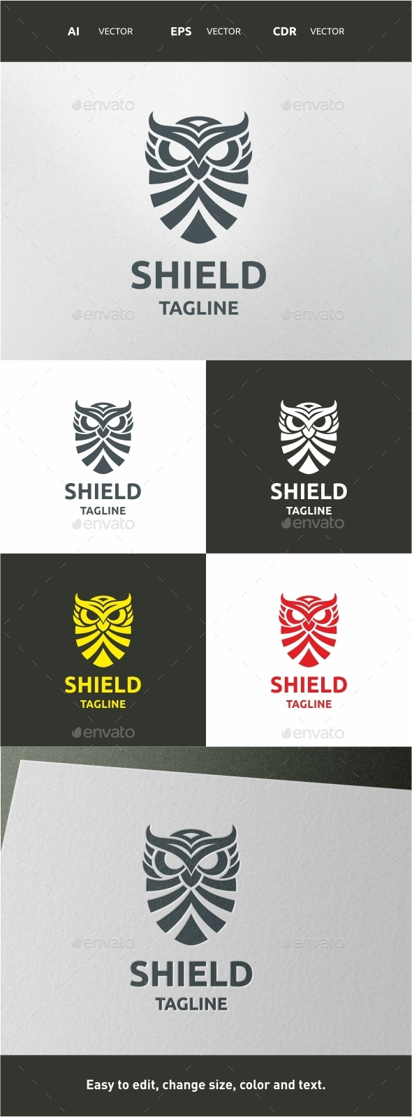 GraphicRiver Shield 9835605