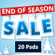 End of Season Sale Web Banners - GraphicRiver Item for Sale