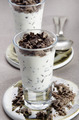 yogurt with chocolate in a glass - PhotoDune Item for Sale